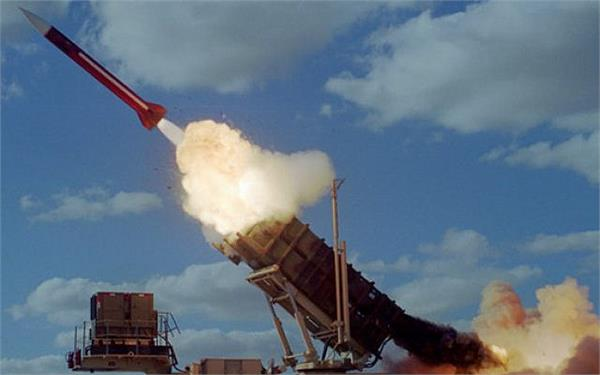 saudi arabia s air defense has two missiles caught in riyadh