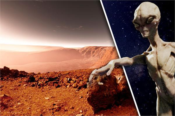 a small lab discover evidence of alien fossils on mars