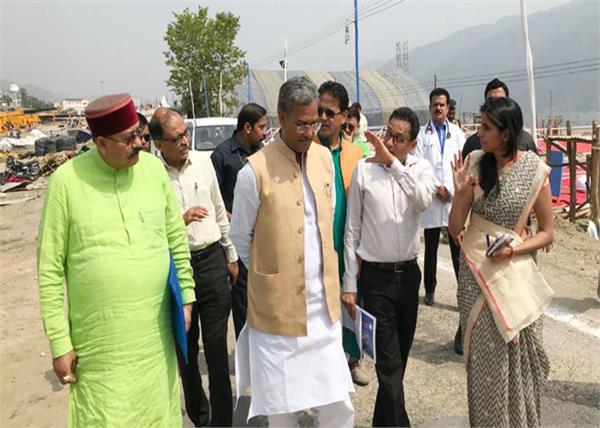 cm trivendra inspected of tehri lake festival