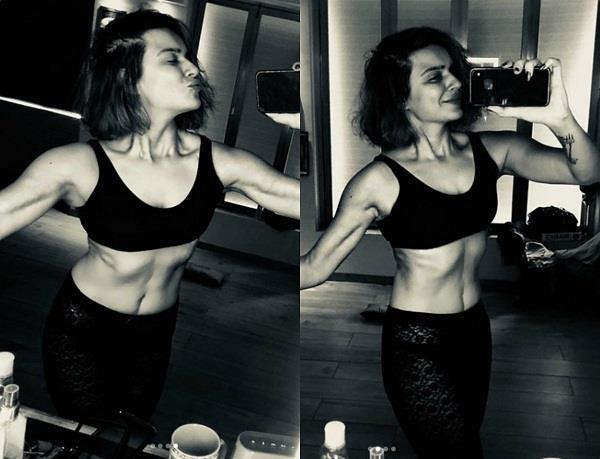 aashka goradia body transformation