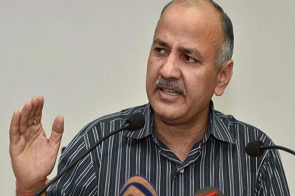 manish sisodia likens bjp leaders with mughals