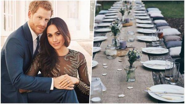 prince harry meghan royal wedding guest bring their own food