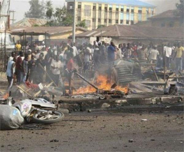order to increase security in north eastern nigeria after suicide attack