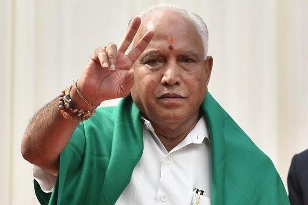 pm modi s slogan to fight for truth yeddyurappa