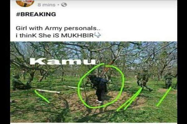 kashmiri photojournalist defamed by morons on social media