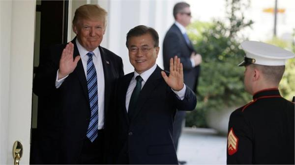 president moon arrives at the white house to meet trump