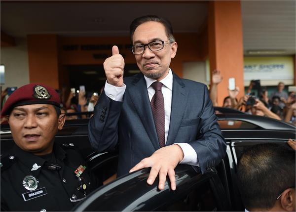 malaysia s ex pm anwar release from jail