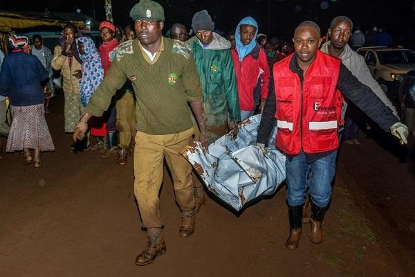 32 people killed in kenya dam collapse