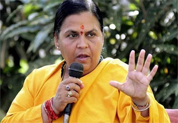 uma bharti s says narendra modi s politics of jealousy