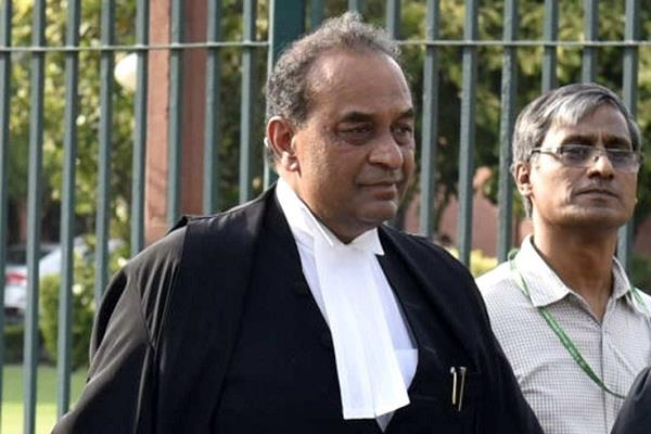 center appointed rohatgi as joint judge in lokpal committee