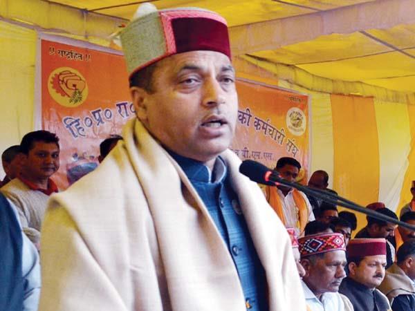 cm jairam s counter attack congress responsible for kasauli rafael