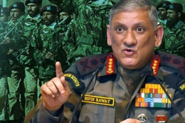 pak wants peace stop sending terrorists rawat