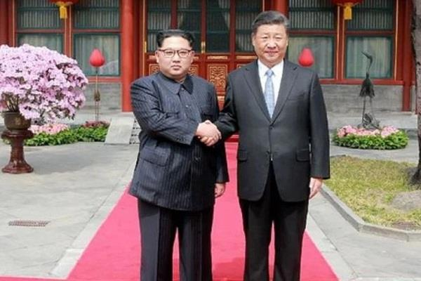 shi xinfing kim jong north korea s meet in china