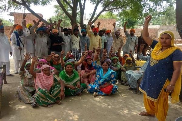 the person who speaks to a dalit laborer