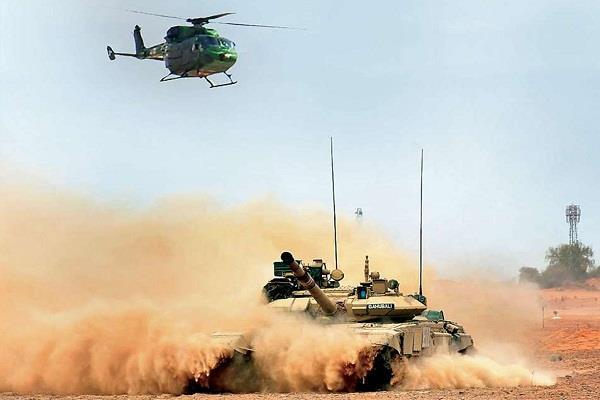 sapti shakti command soldiers did maneuvers