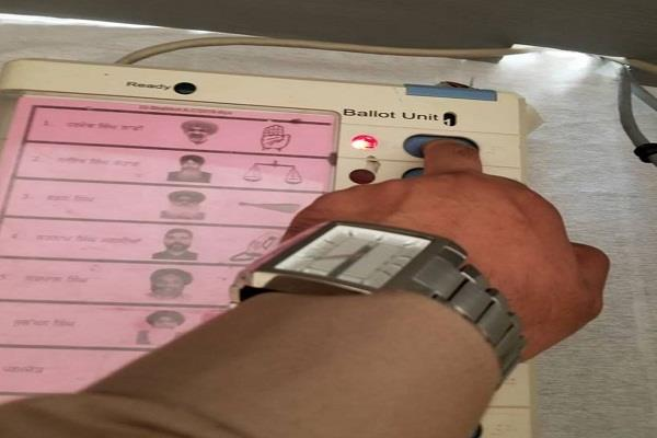 shahkot bypoll sefali with voting too