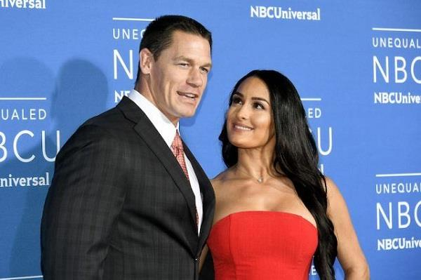 Punjab kesari Sports John cena Nikki bella WWE hot images photo