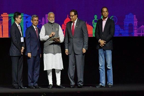 modi has released three indian digital payment apps in singapore