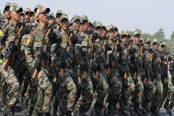 increase expenditure on army across the world