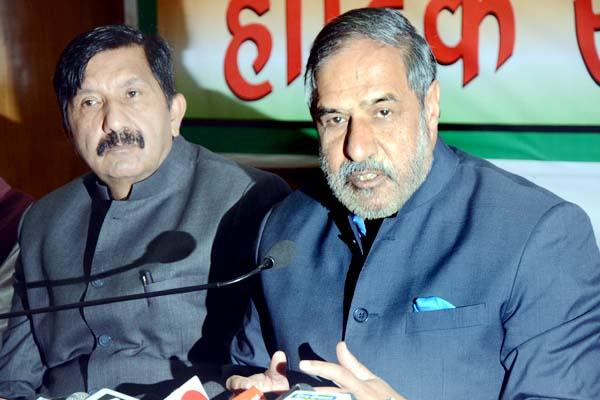 anand sharma target the pm modi on notebandi and gst
