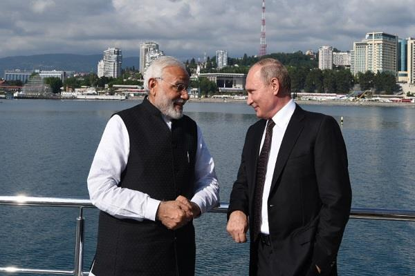 pm says putin is important in my political career