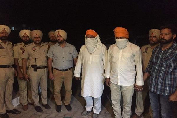 2 khalistani terrorists clash with punjab police