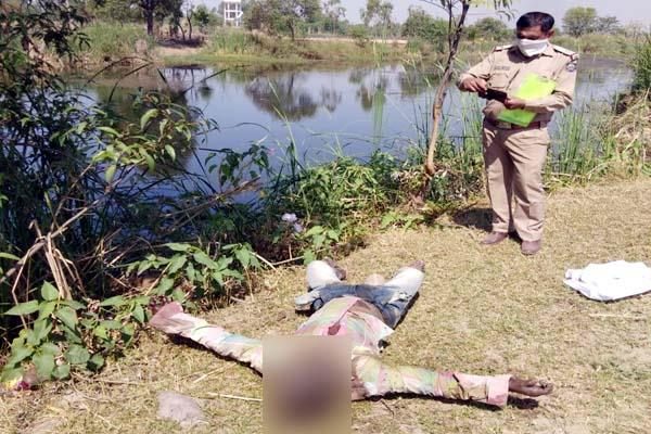 deadbody found near beas river extends sensation