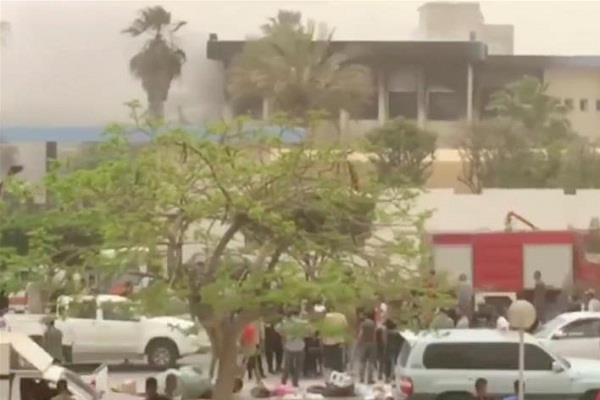 12 people killed in libya attack on election commission