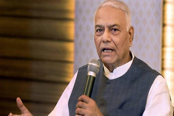 status of unannounced emergency in the country yashwant sinha