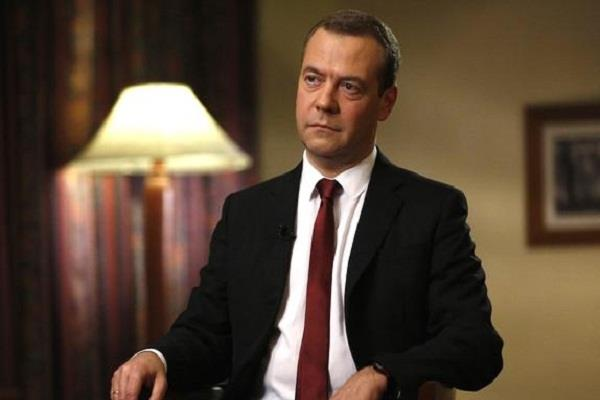 medvedev again became the prime minister of russia