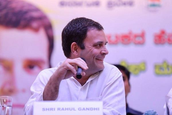 rahul is a target of pm modi not a single press conference in four years