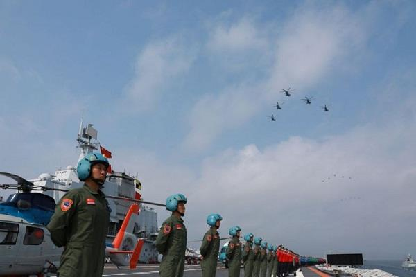 china is not invited to join us military practice