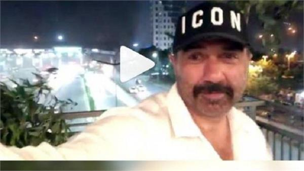 sunny deol captured the storm of delhi ncr