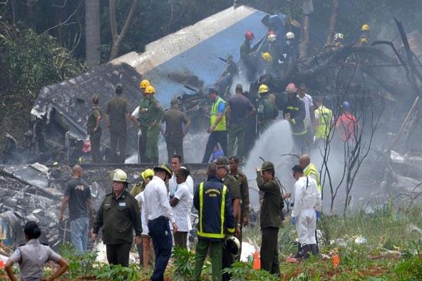 cuban plane crash in havana news of many people killed