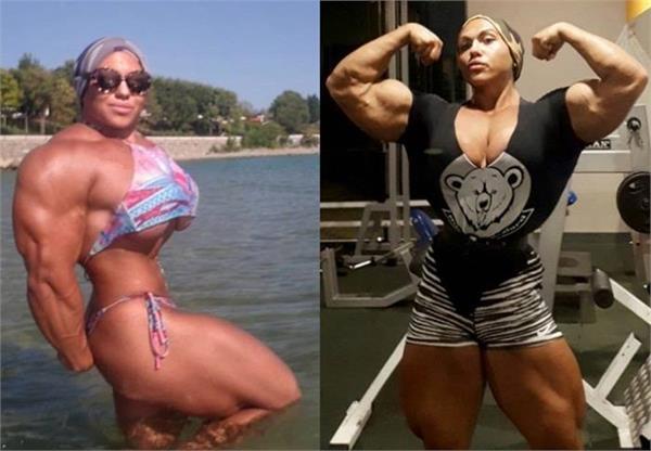 female bodybuilder natalia kuznetsov who is look like hulk