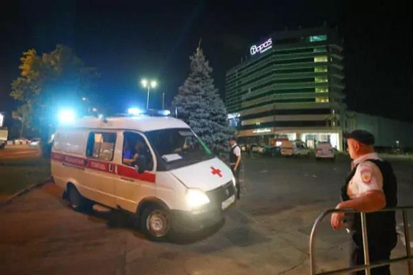 russia rostov on two city hotel was evacuated after bomb threat