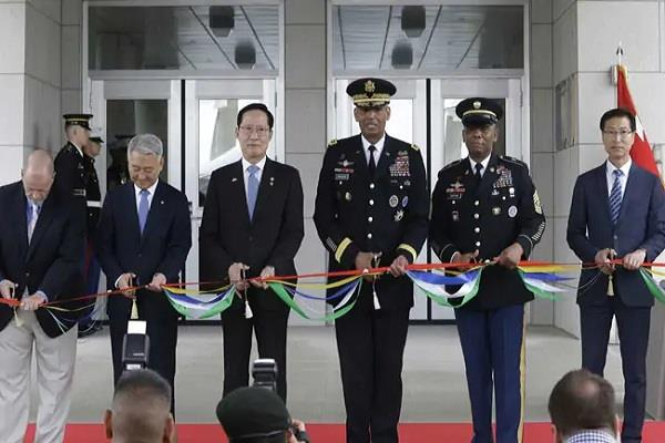 usa opens its new military headquarters in south korea