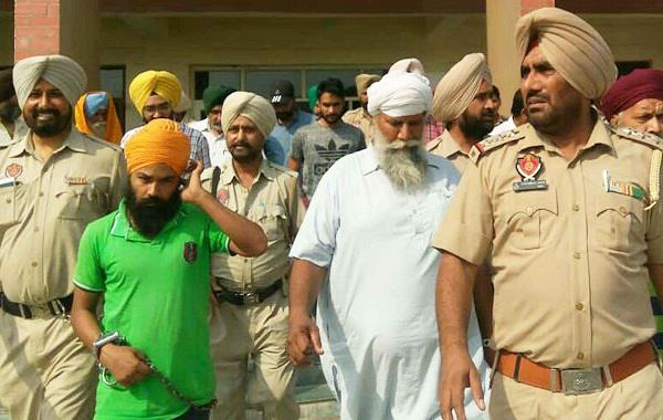 sikh for justice activists present in court