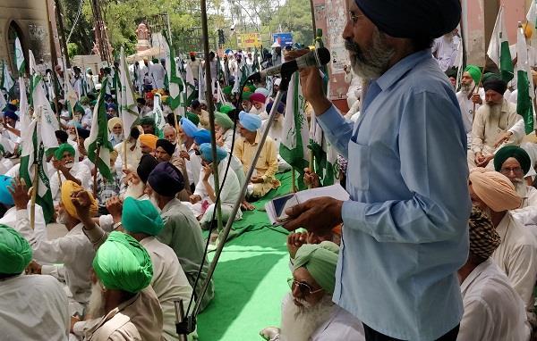 farmer protest