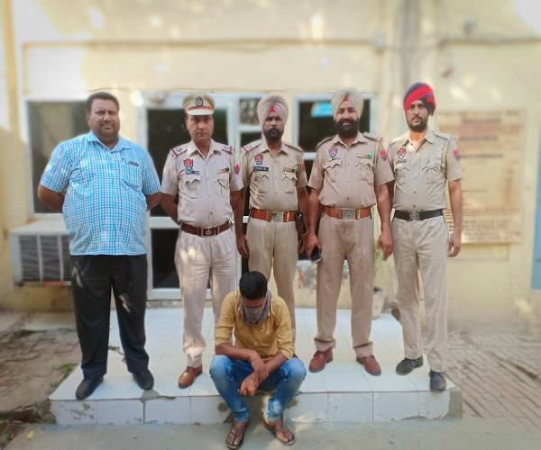 criminal arrested with heroin