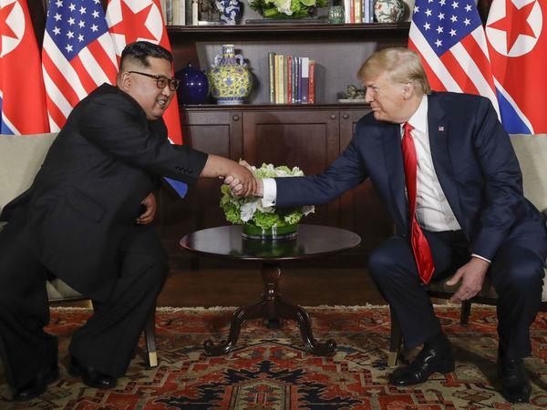 trump north korea kim jong un singapore meeting