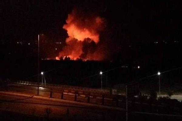 israeli missiles attack near damascus airport