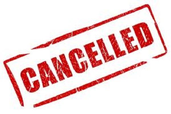cm khattars jan ashirwad yatra cancelled for tomorrow