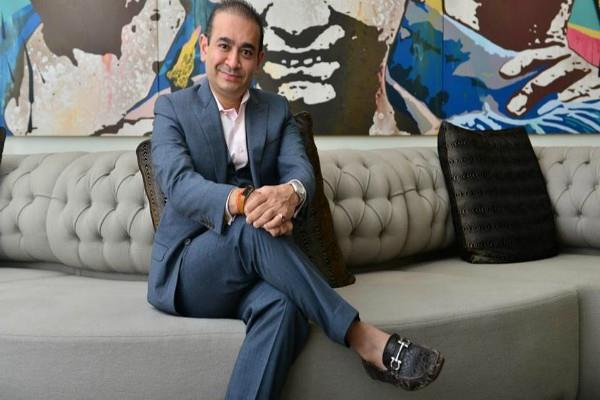 nirav modi was staying in the flat on top of his store in london