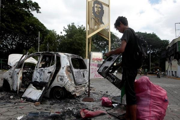 15 killed in violence in nicaragua more than 200 injured