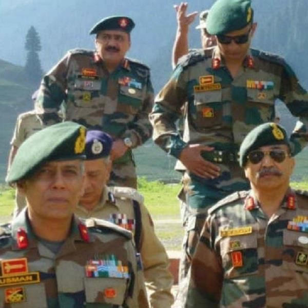 this picture of the indian army on social media is getting viral