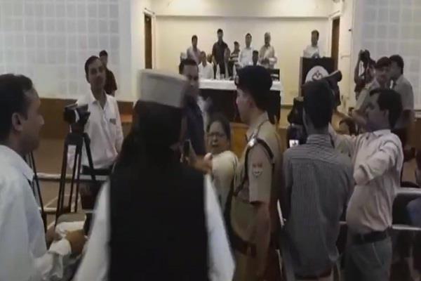 orders to suspend cm rawat on female teacher