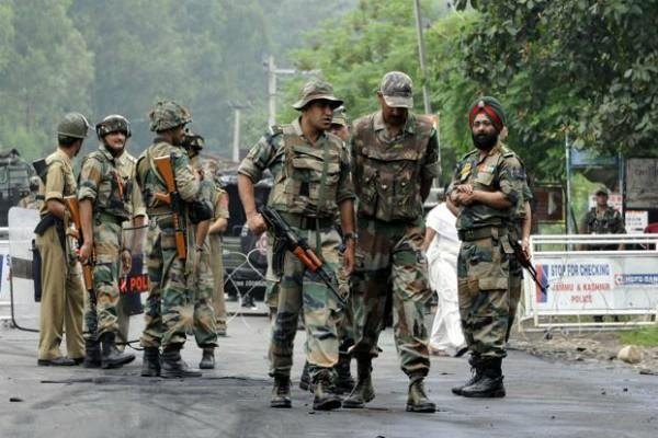 security forces were kept on high alert in jammu and kashmir