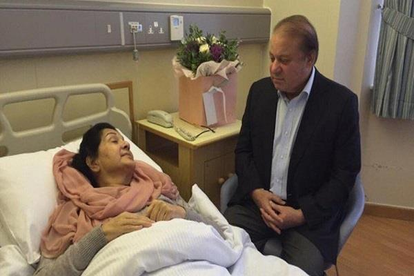 london nawaz s wife was entering the room of a man arrested