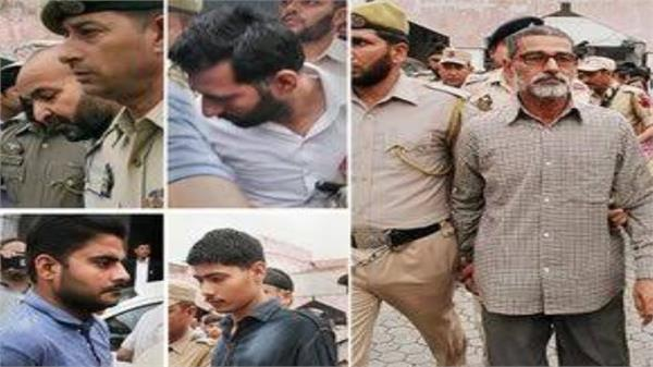 allegations in rape and murder case against seven accused